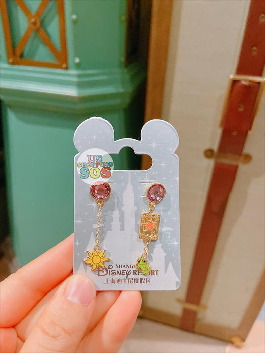 SHDL - Earrings Set x Tangled Pascal for Adults