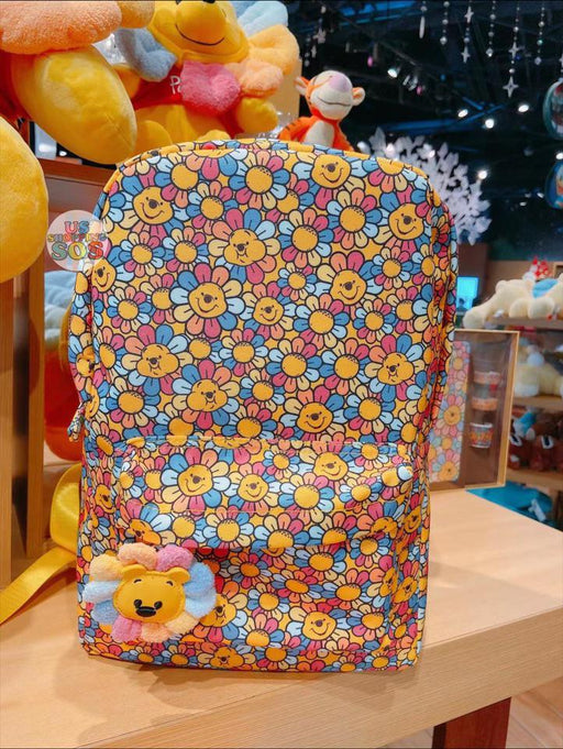 SHDS - Colorful Sunflower x Winnie the Pooh Collection - All Over Printed Backpack