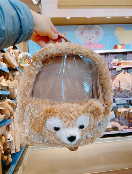 SHDL - Duffy Face Icon Fluffy Backpack (Clear Window)