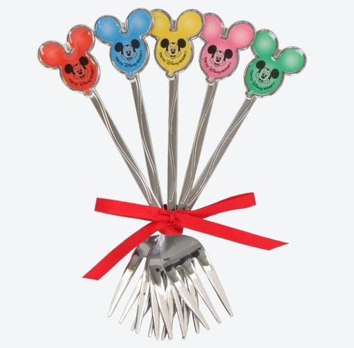TDR - Mickey Mouse Head Shaped Balloon x Fork