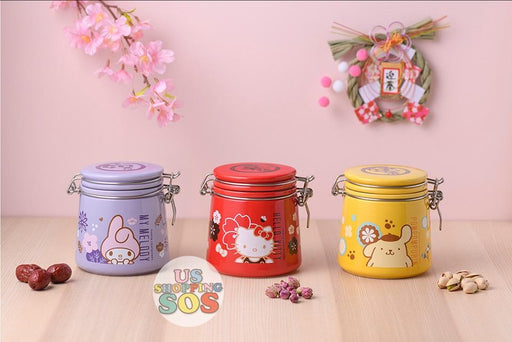 Hong Kong Exclusive - Sanrio Characters Lucky Food Jar Containers x