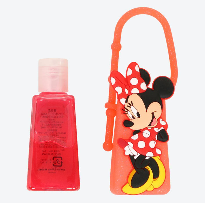 TDR - Hand Sanitizer Gel Holder Keychain x Minnie Mouse