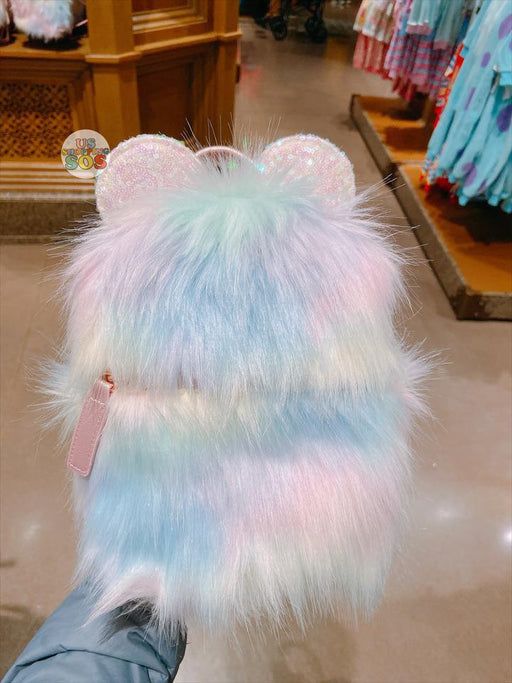 SHDL - Mickey Mouse Cotton Candy Dream Fluffy Backpack
