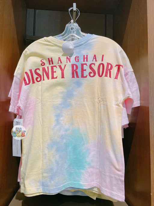 SHDL - Mickey Mouse Cotton Candy Dream Tie-Dye T-Shirt for Adults -