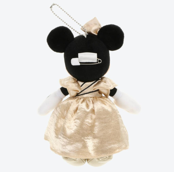 TDR - Mickey's Magical Music World Show (Gold) - Plush Keychain x Minnie Mouse