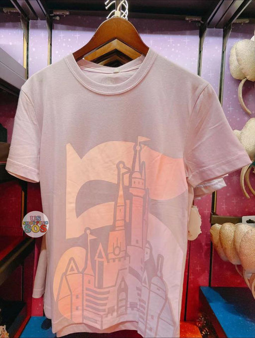 SHDL - Year of Magical Surprise Collection - Shanghai Disney Resort Castle T Shirt for Women (Color: Purple)