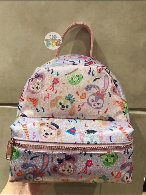 SHDL - Year of Magical Surprise x Duffy & Friends Collection - All Over Print Glitter Backpack