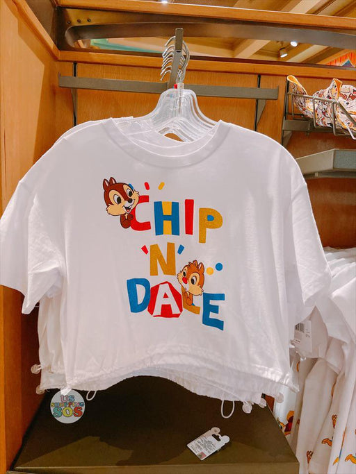 SHDL - Chip & Dale Drawstring T Shirt for Female