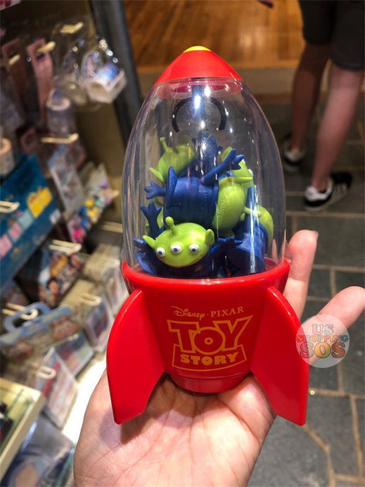 HKDL - Eraser with Holder x Alien Rocket