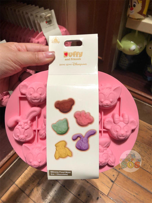 HKDL - Valentine Day 2019 Collection - Duffy & Friends Silicone Food Mold (Ice/Chocolate)
