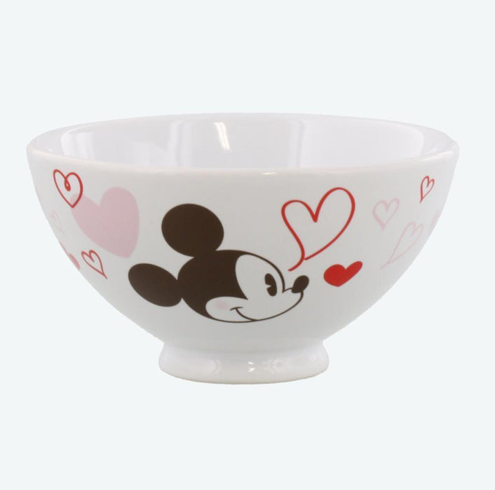 TDR - You Love makes me Happy Collection - Mickey & Minnie Bowls Set