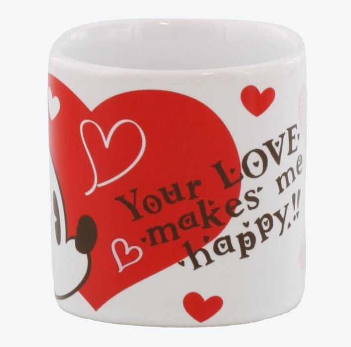 TDR - You Love makes me Happy Collection - Mickey & Minnie Mugs Set