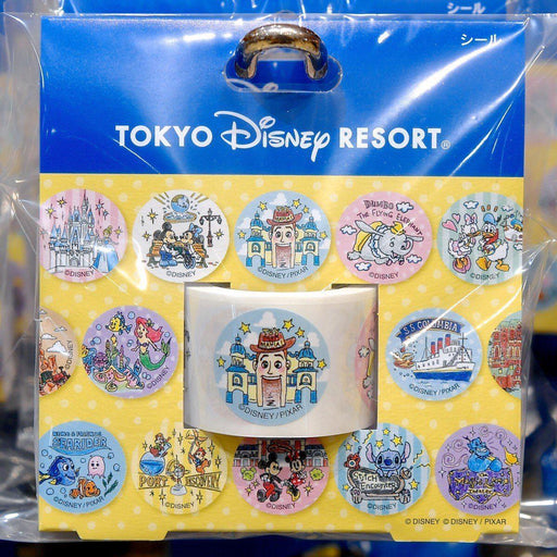 TDR - Tokyo Disney Resort Fun Map Collection - Stickers
