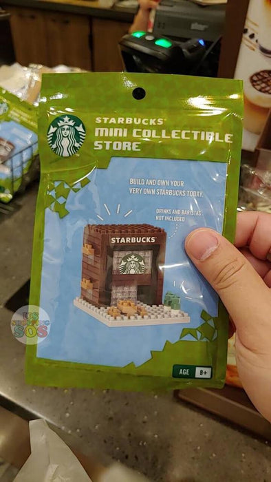 Hong Kong Starbucks - Mini Store Collectible Store - Design A
