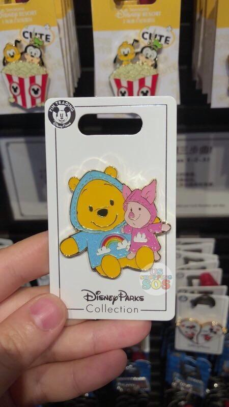 SHDL - Raincoat x Pins Collection - Winnie the Pooh & Piglet