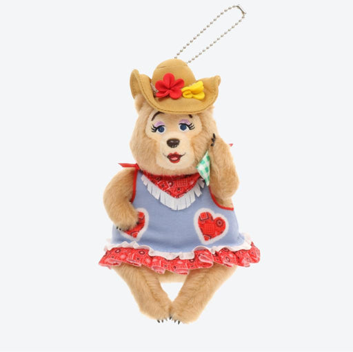 TDR - Country Bear Summer Jamboree Plush Keychain - Trixie