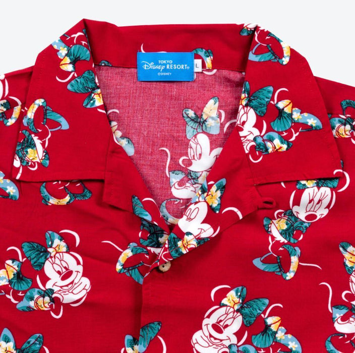 TDR - All-Printed Shirt - Minnie Mouse (Red)