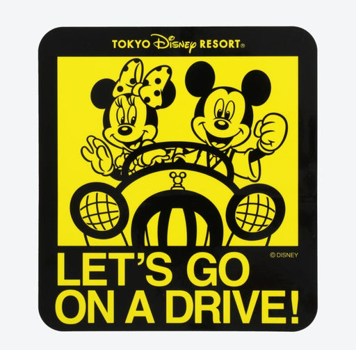 TDR - Decal Stickers for Car - Mickey & Minnie Mouse