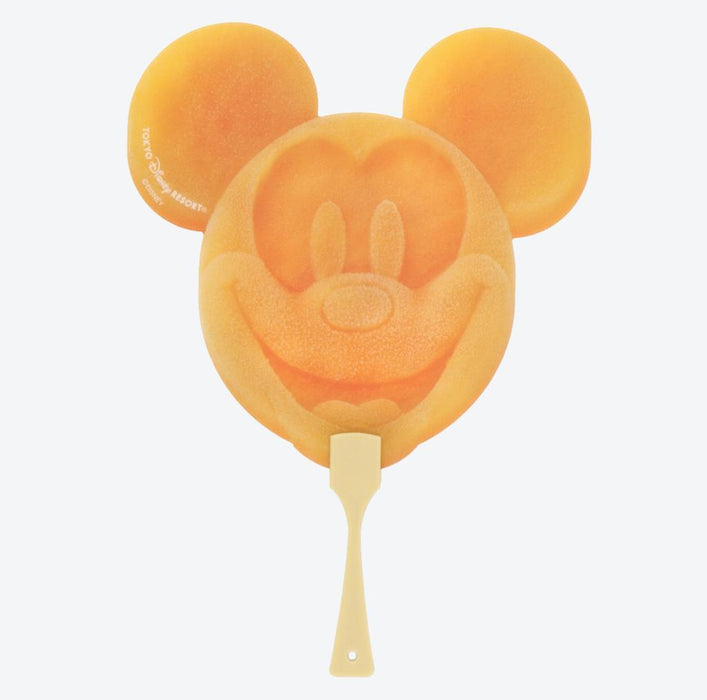 TDR - Food Theme - Mickey Mouse Popsicle Shape Hand Fan