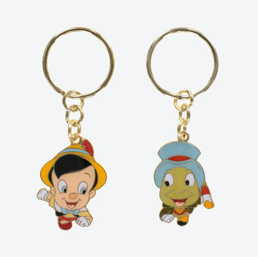 "TDR - ""We are a Team"" Keychain Set - Pinocchio & Jiminy"