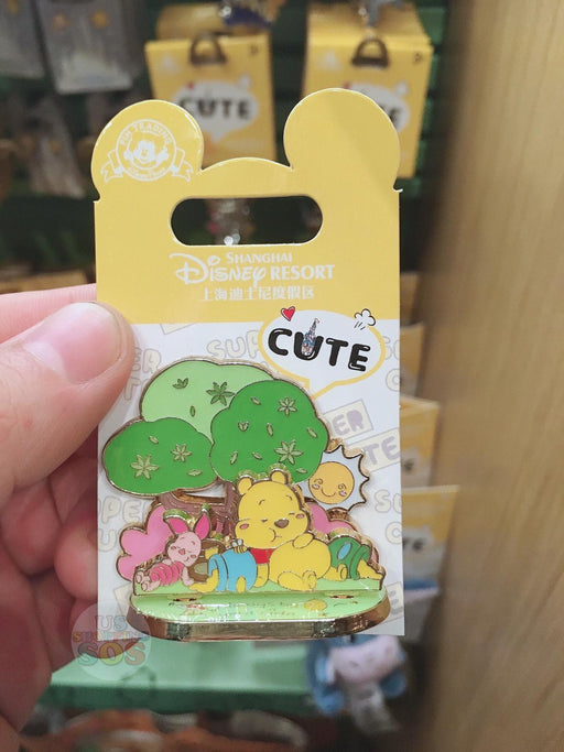 SHDL - Super Cute Winnie the Pooh & Friends Collection - Pin x  Sleeping Winnie the Pooh & Piglet