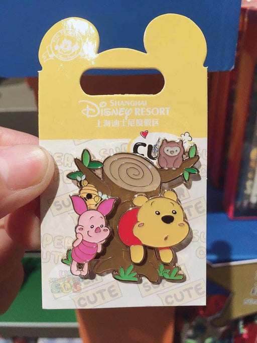 SHDL - Super Cute Winnie the Pooh & Friends Collection - Pin x Winnie the Pooh & Piglet