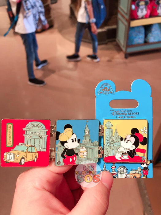 "SHDL - ""Shanghai Collection"" - Pin x Mickey & Minnie Mouse"