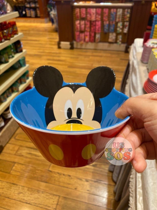 HKDL - Plastic Bowl - Mickey Mouse