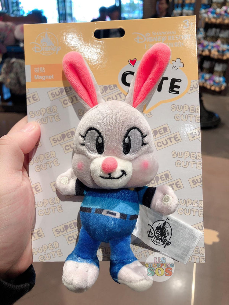 SHDL - Super Cute Zootopia Collection - Plush Toy x Magnet - Judy Hopps