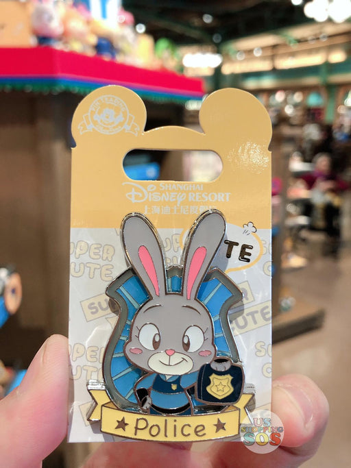 SHDL - Super Cute Zootopia Collection - Pin x Judy Hopps
