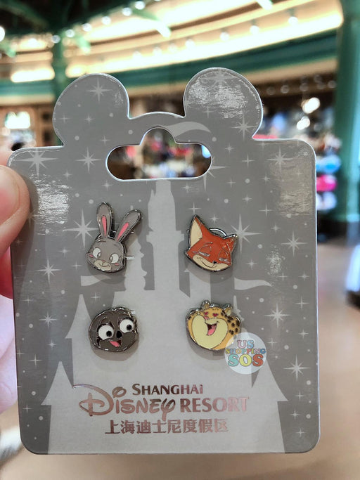 SHDL - Super Cute Zootopia Collection - Earrings Set