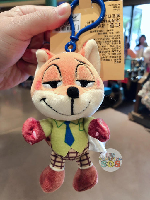 SHDL - Super Cute Zootopia Collection - Plush Keychain - Nick Wilde