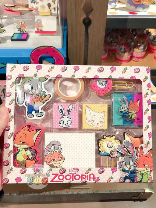 SHDL - Super Cute Zootopia Collection - Stationary Set