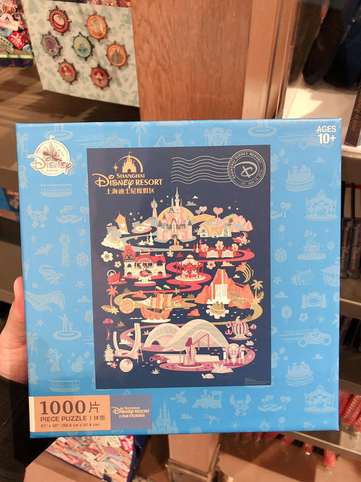 SHDL - Shanghai Disney Resort 1000 pieces Puzzle
