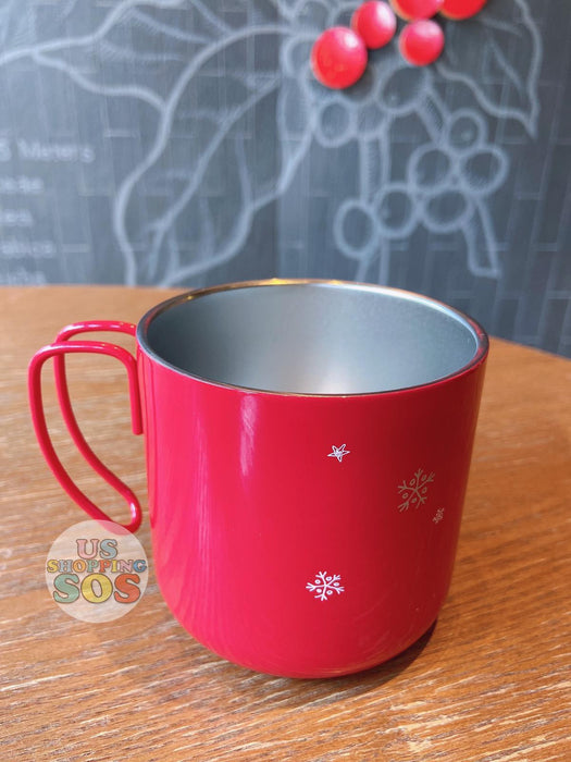 Starbucks China - Christmas Gift - 12oz Red Classic Stainless Steel Cup
