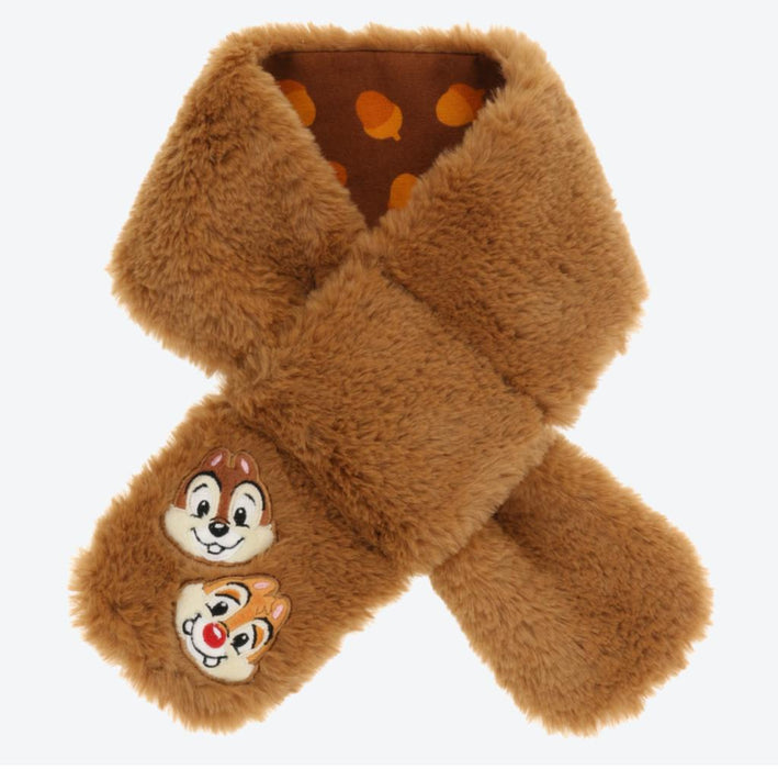 TDR - Fluffy Scarf - Chip & Dale (For Babies)