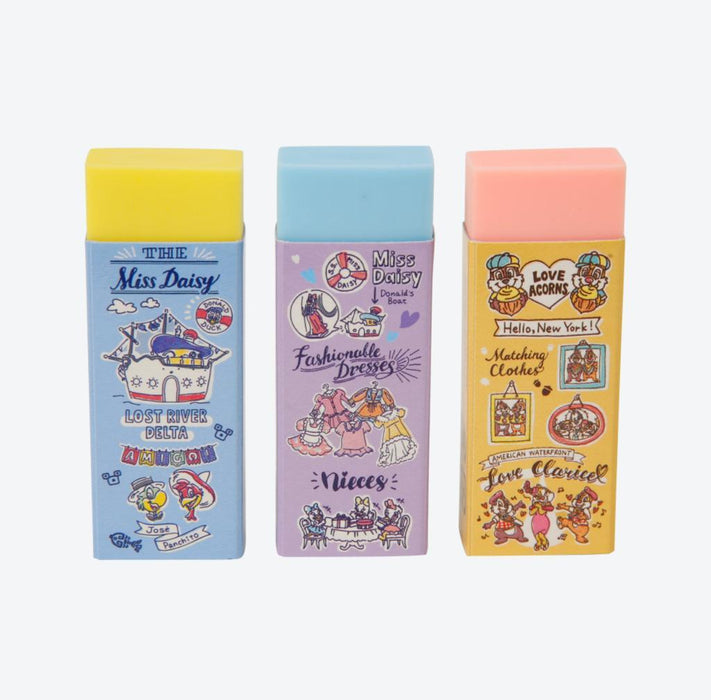 TDR - Watercolor style Mickey & Friends Collection - Eraser set