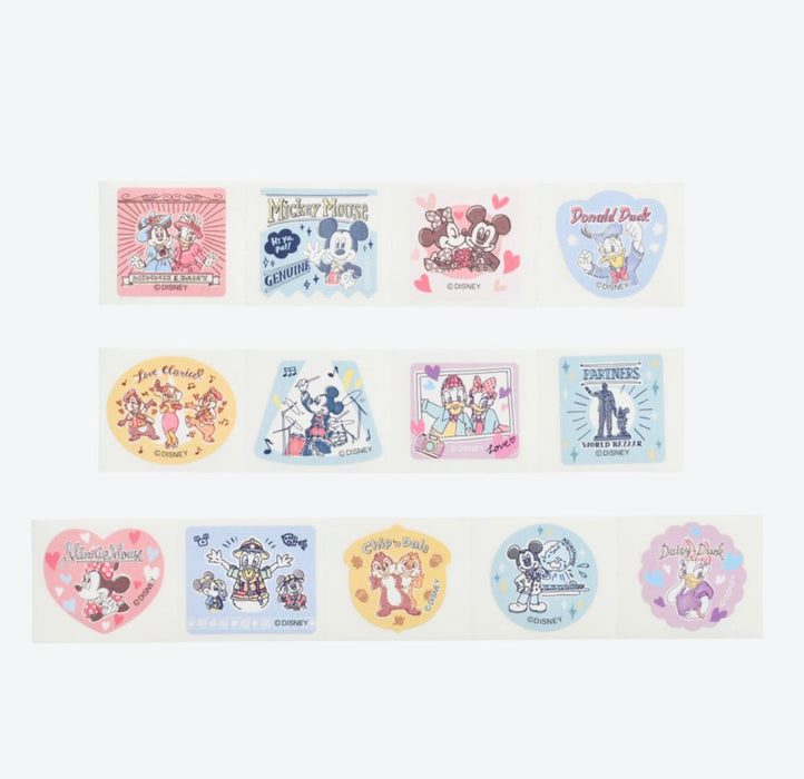 TDR - Watercolor style Mickey & Friends Collection - Stickers