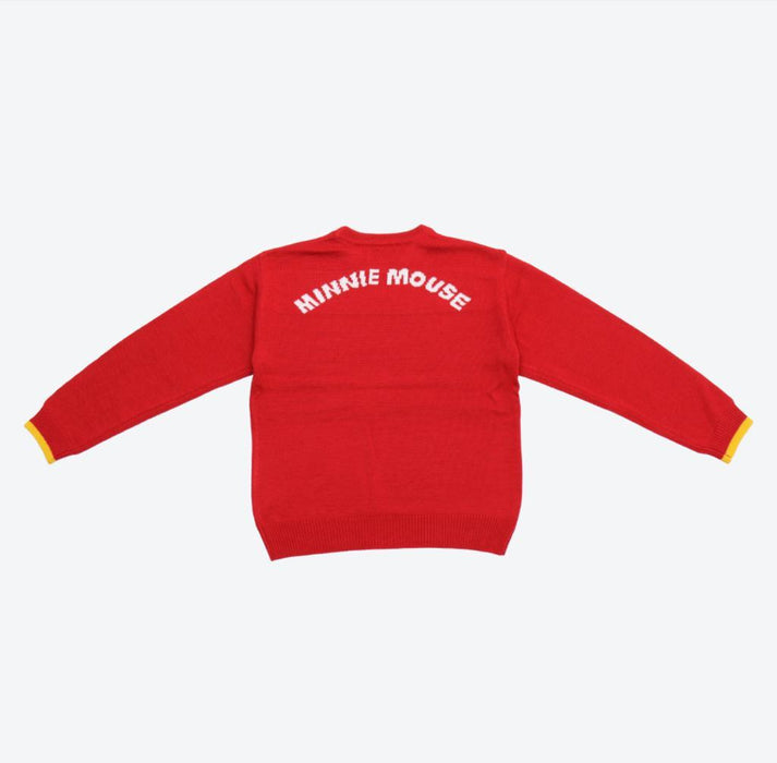 TDR - Sweater x Minnie Mouse (Color: Red)