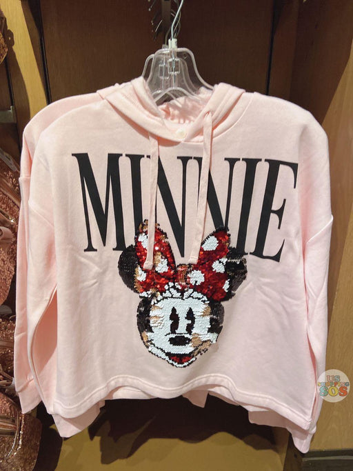 SHDL - Reversible Sequin Hoodies x Minnie Mouse