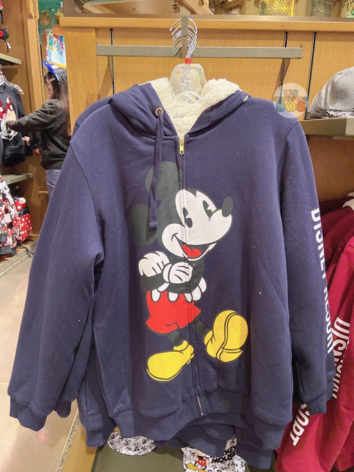 SHDL - Zip Hoodie x Mickey Mouse (Color: Navy)