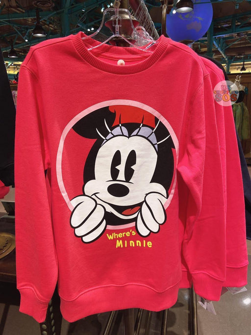 "SHDL - Pullover ""Where's Minnie"" Wordings"