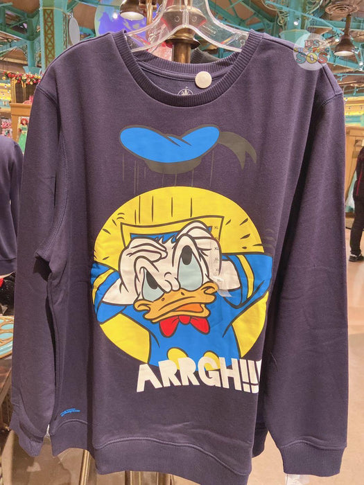 "SHDL - Pullover ""ARRGH!!!"" Wordings x Donald Duck"