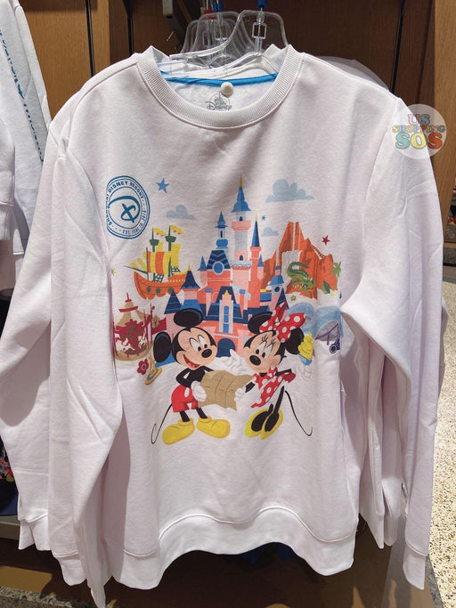 SHDL - Pullover x Mickey & Minnie Mouse with Shanghai Disneyland Castle