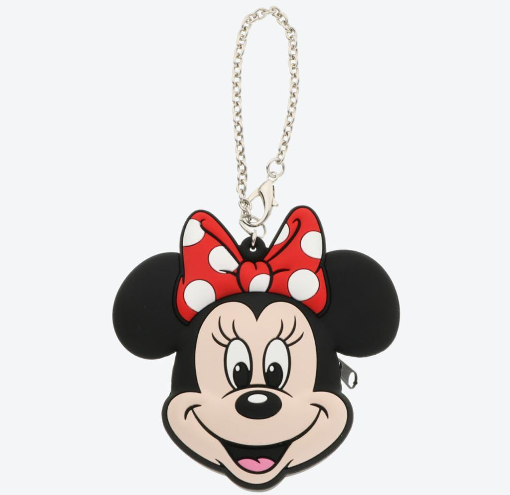 TDR - Squishy Silicone Coin Purse & Keychain x Minnie Mouse