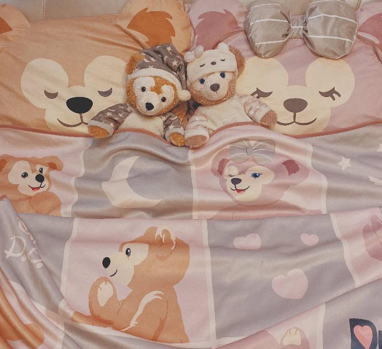 SHDL - Duffy & Friends Cozy Home - Blanket x Duffy & ShellieMay