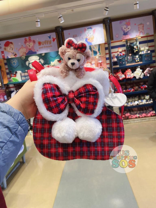 SHDL - ShellieMay Plaid Fluffy Long Strap Bag