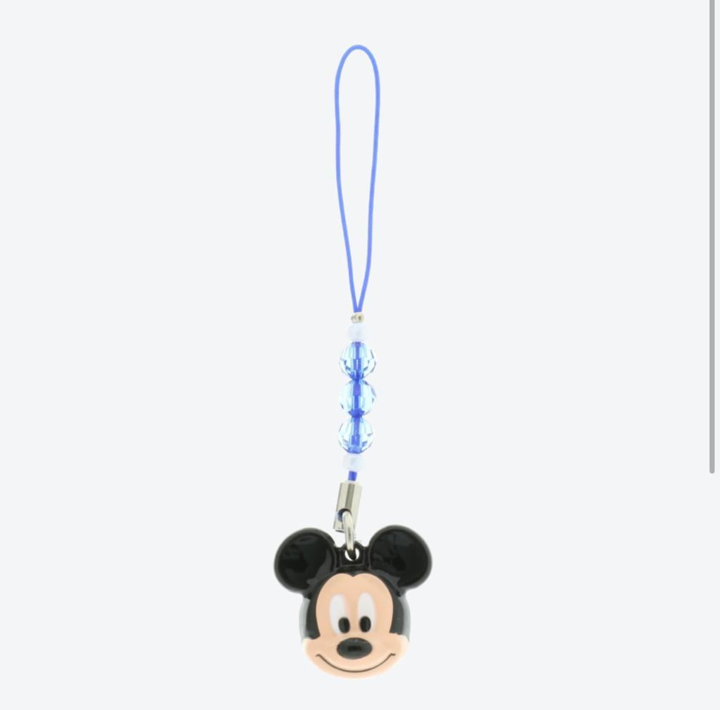 TDR - Bell with Strap/Keychain - Mickey Mouse