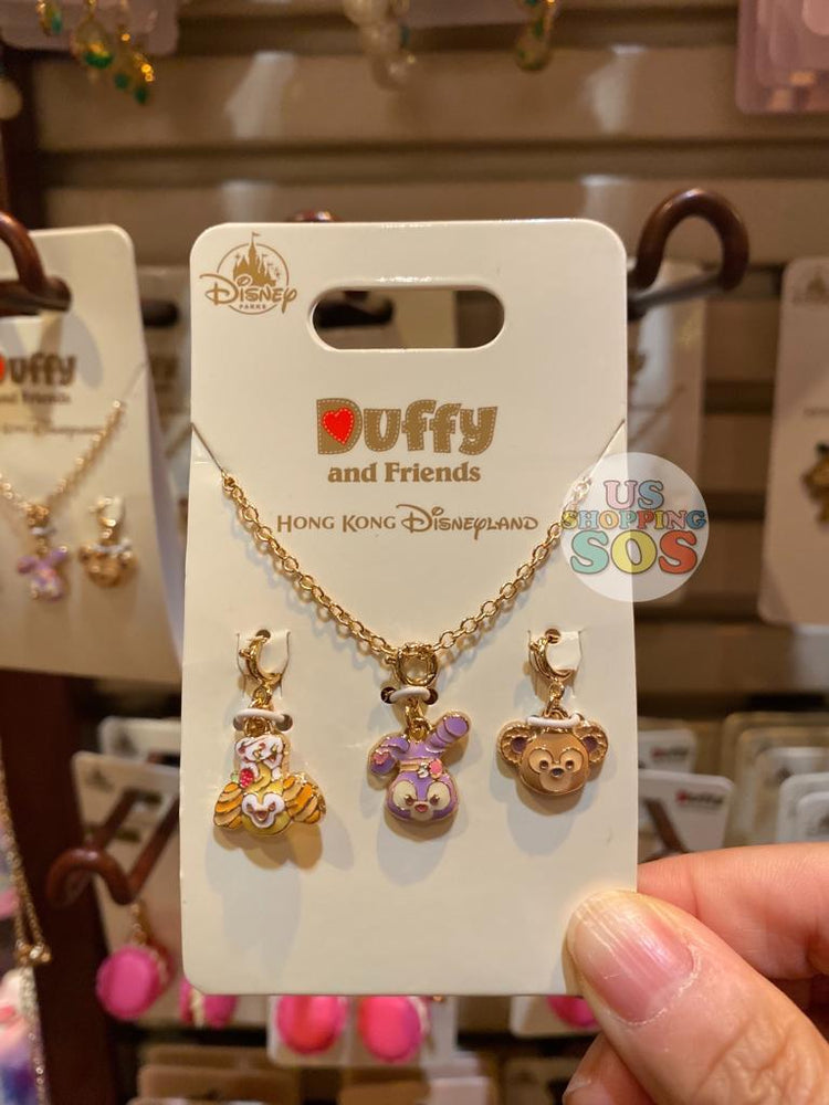 HKDL - Earrings & Necklace Set - CookieAnn, StellaLou & Duffy