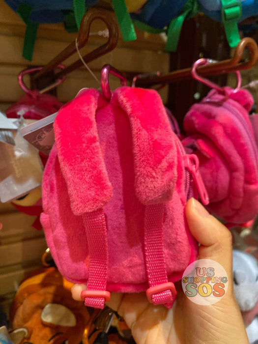 HKDL - Backpack Shaped Plush Keychain & Pouch - Lotso